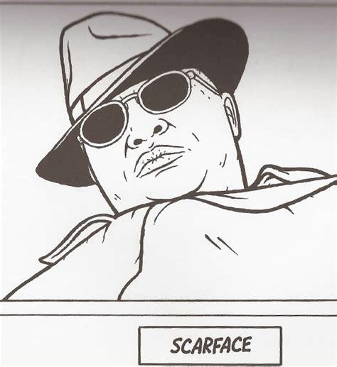 gangsta rap coloring book gangsta rap coloring book scarface
