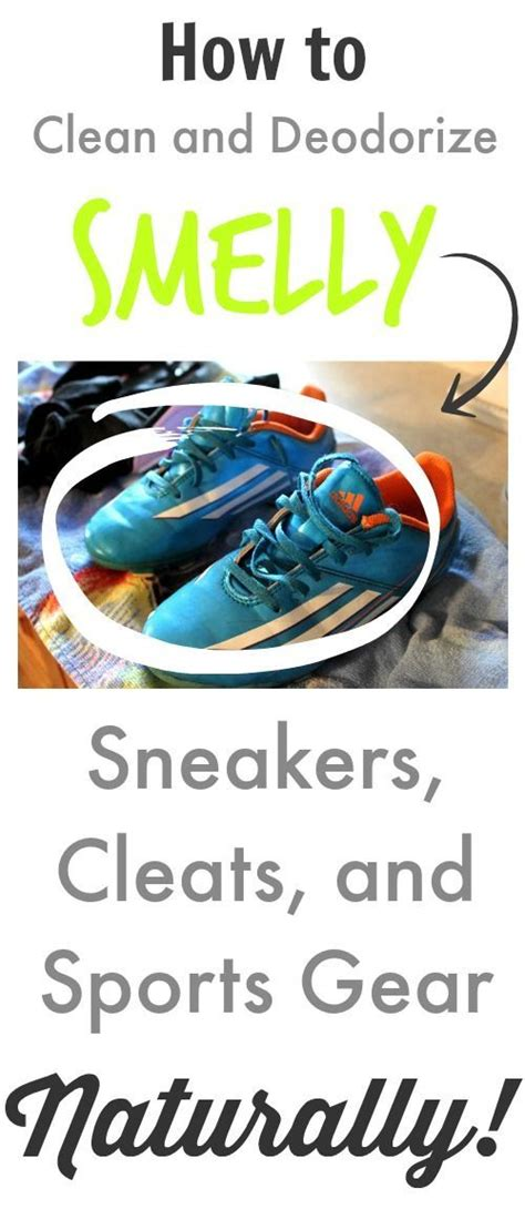how to clean sport shoes how to clean and deodorize smelly sneakers cleats and