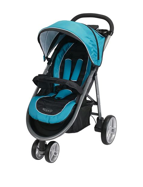 Stroller Graco Citilite R Blue Xii 6y86buej graco aire3 click connect stroller poseidon stage stores
