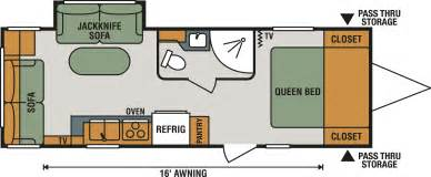 25 Ft Travel Trailer With Slide Floor Plans by Keystone Rv Outback Trailers Floor Plans Free Home