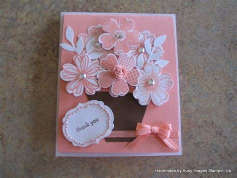 how to make a card easy and beautiful card to make www susywhisenant