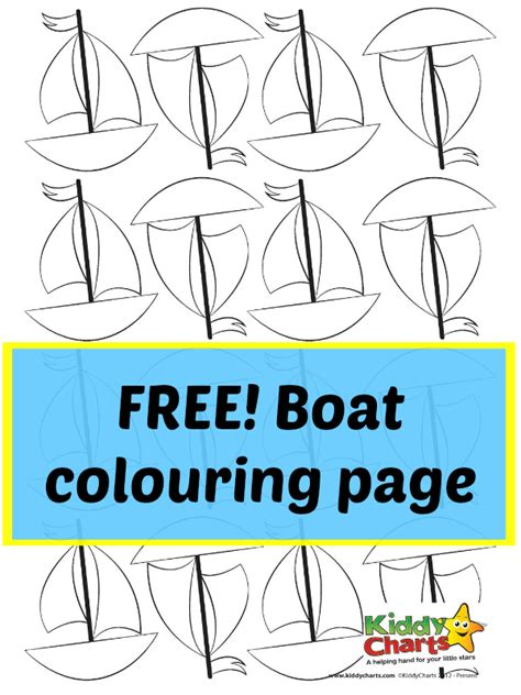 row boat verses boat colouring page