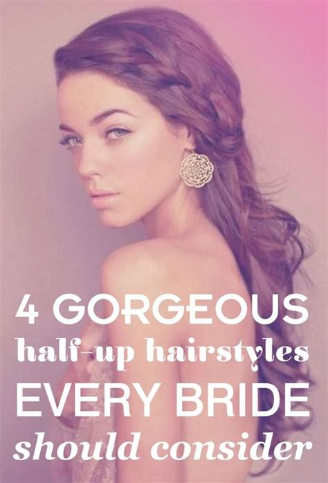 Wedding Hair Up Ideas 2013 by Best 25 Half Up Wedding Ideas On Wedding