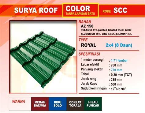 Payung Pelangi Gagang Panjang Multi Color atap zincalume genteng metal insulations translucent multi roof atap murah atap upvc