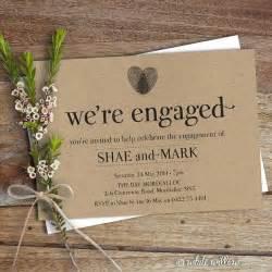 engagement invitation engagement invite engagement dinner diy printable