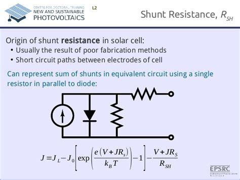 shunt resistor in parallel shunt resistor in parallel 28 images ding shunt resistance pveducation d c shunt