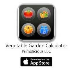 Small Vegetable Garden Planning Vegetable Garden Calculator