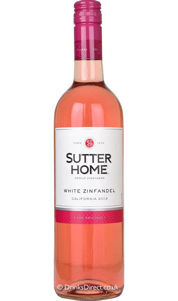 sutter home white zinfandel california the wine market