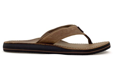 mens sandals with arch support moszkito archy 400 brown mens arch support flip flops ebay