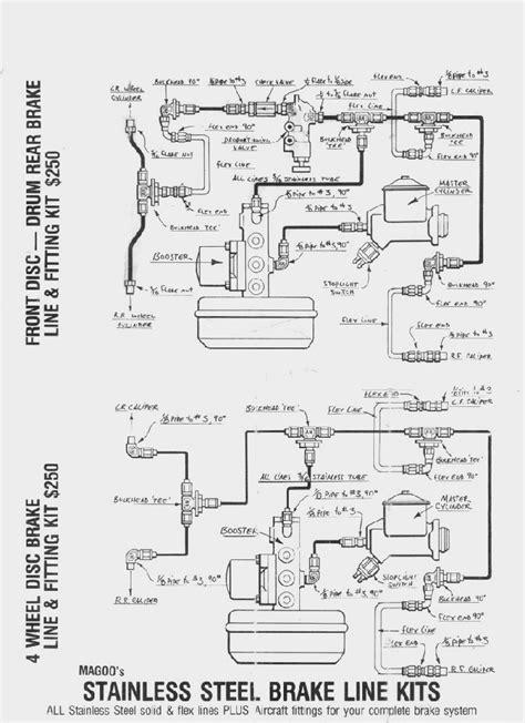 brake line diagram ss brake line diagram