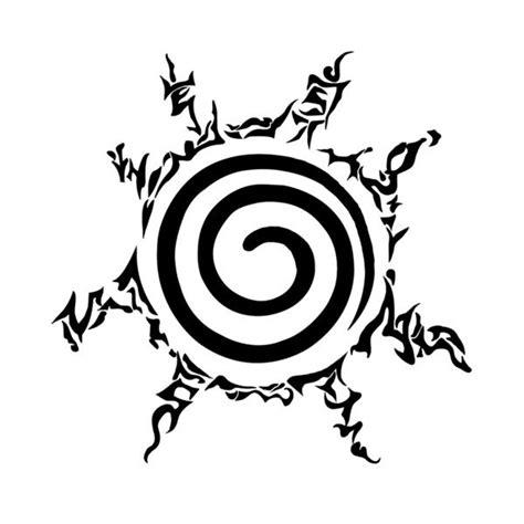 Jaket Anime Kyubi Seal Orange eight trigrams seal ink seals