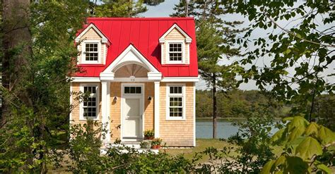 tiny homes of maine this quaint tiny house may look small but inside it feels