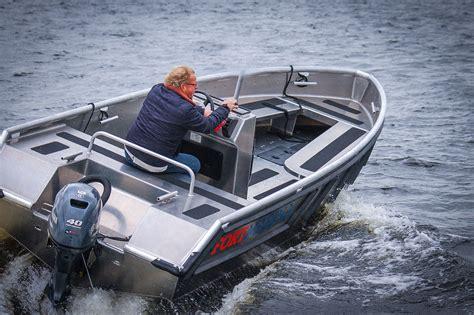 aluminium boot bouwpakket tenderline aluminium consoleboot aluminium console boten