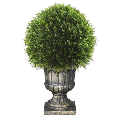 national tree company 27 in upright juniper ball topiary
