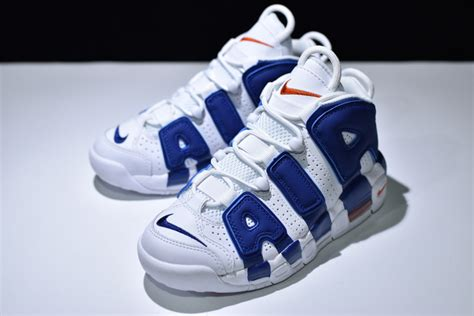 new york knicks basketball shoes gs nike air more uptempo new york knicks 415082 103