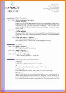 New Resume Format Download 5 Latest Cv Format Download 2016 Ledger Paper