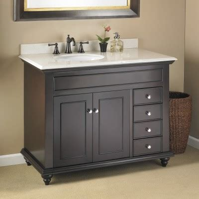 48 Bathroom Vanity With Offset Sink Trying To Find The Impossible 42 Quot Bathroom Vanity With An