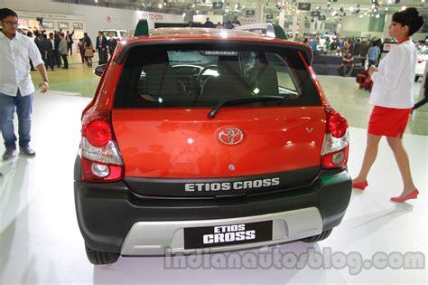 Ktm Auto Expo 2014 by Toyota Etios Cross Rear At Auto Expo 2014