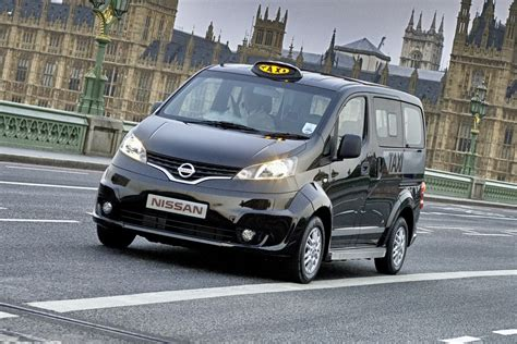 Nissan Nv200 London Taxi A New Take On London S Black Cab