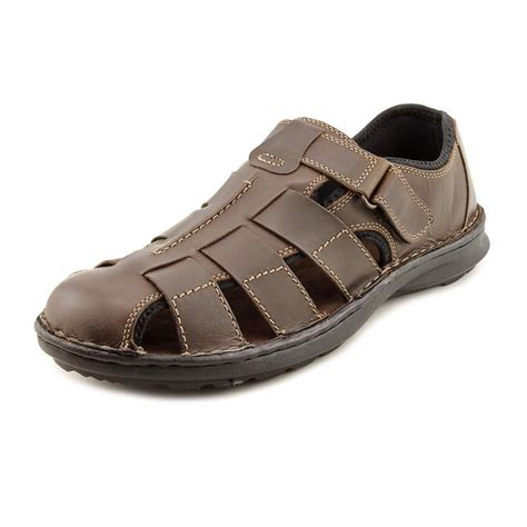 mens leather fisherman sandals click to enlarge