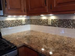 white kitchen subway tile backsplash amazing brown subway tile backsplash with contemporary