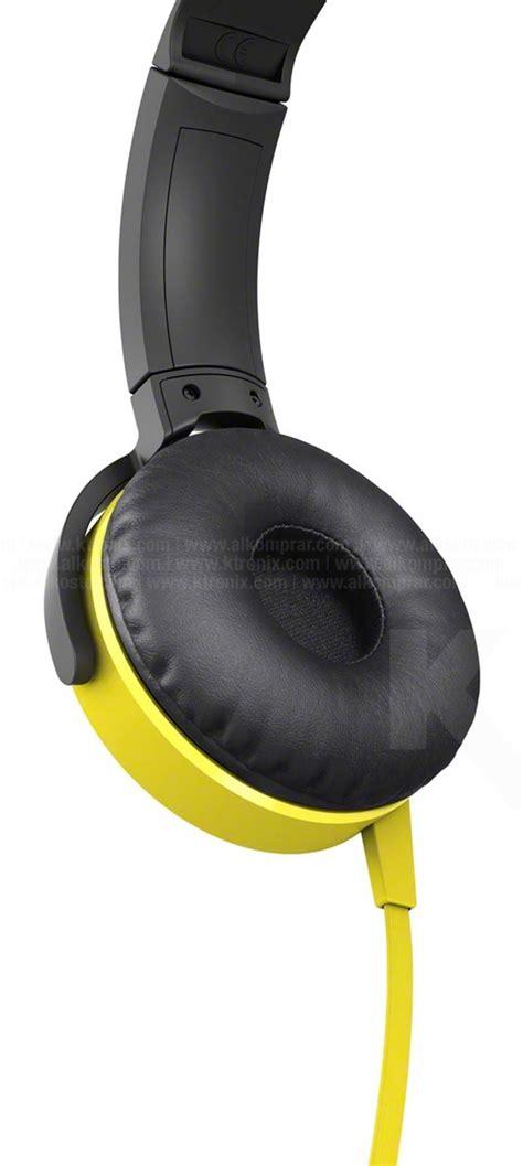 Sony Mdr Xb450ap Bass Headphone Yellow aud 237 fonos sony overhead mdr xb450ap amarillo ktronix tienda