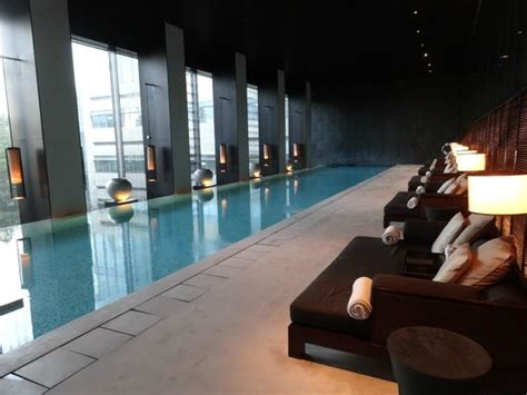 infinity pool shanghai indoor infinity edge swimming pool is great for laps with