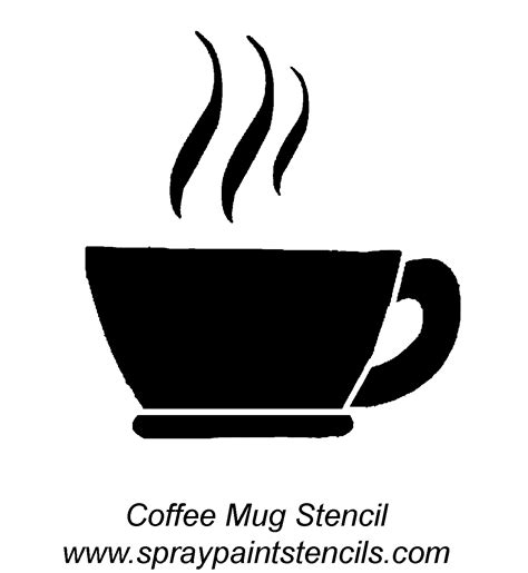 printable stencils for mugs stencils for coffee mugs best home design 2018