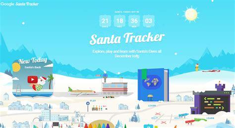 santa tracker santa tracker santa go live counting