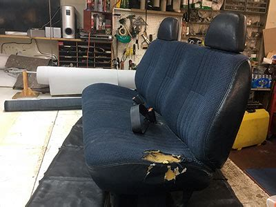 bench seat repair car seat repair car seat covers car interiors