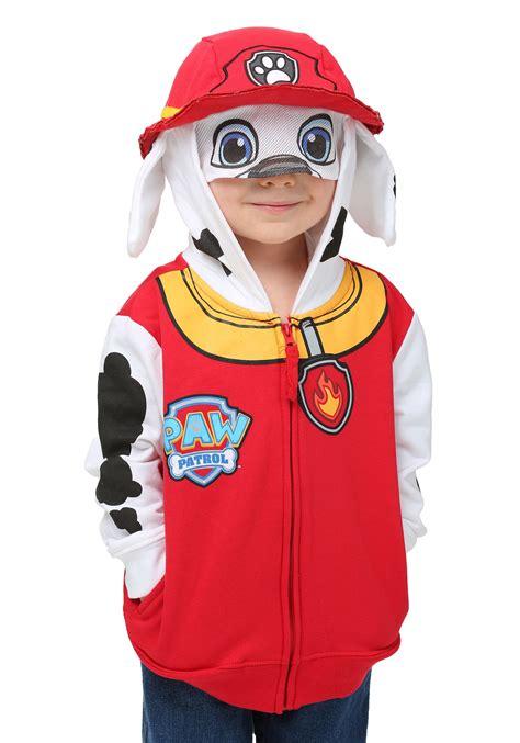 paw patrol costume kid s marshall paw patrol costume hoodie