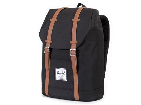 Herschel Macbook Tas herschel retreat rugzak laptoptas black