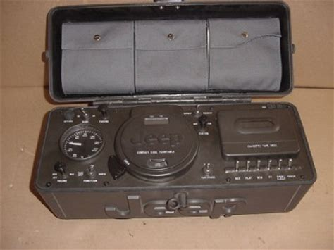 Jeep Portable Radio Jeep Portable Stereo Boombox System Cd 3 Band Radio