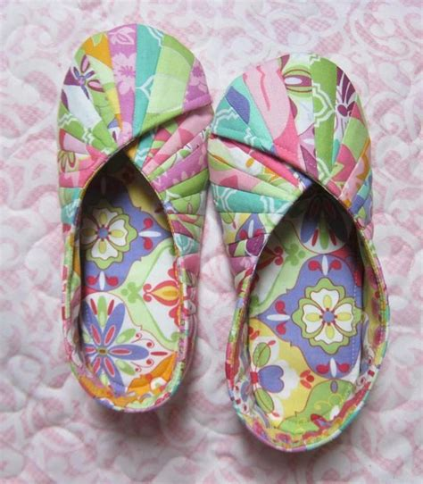 stash house shoes comfy slippers and travel bag are easy to make quilting digest