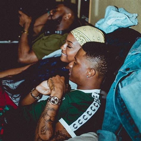 these photos of wizkid and justine skye give us
