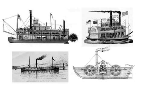 barco de vapor de la primera revolucion industrial los medios de transportes en la segunda revolucion industrial
