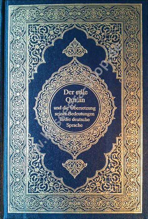 basseera shopde quran von frank bubenheim deutsch arabisch