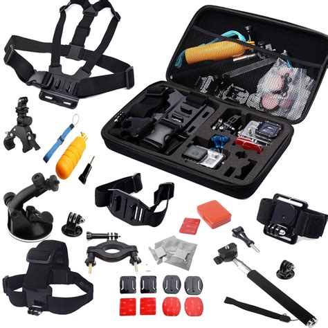 one accessories 30 all in 1 professional gopro accessories bundle for