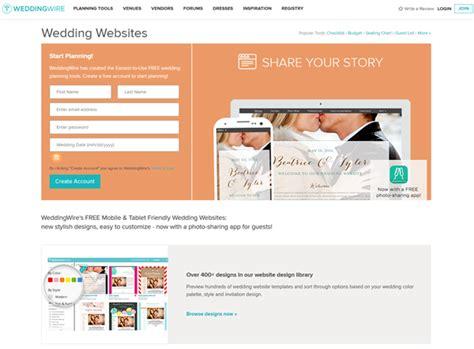 Weddingwire Wedding Website by Top 10 Practical Free Wedding Website You Need To