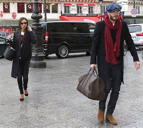 Tas Beckham 45 David And Beckham Leave With Louis Vuitton