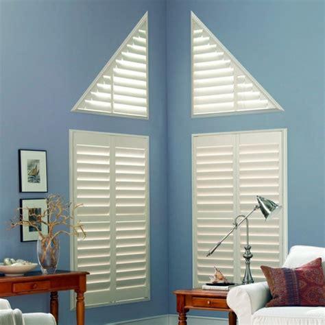 triangle window coverings triangular windows darken window blinds or window