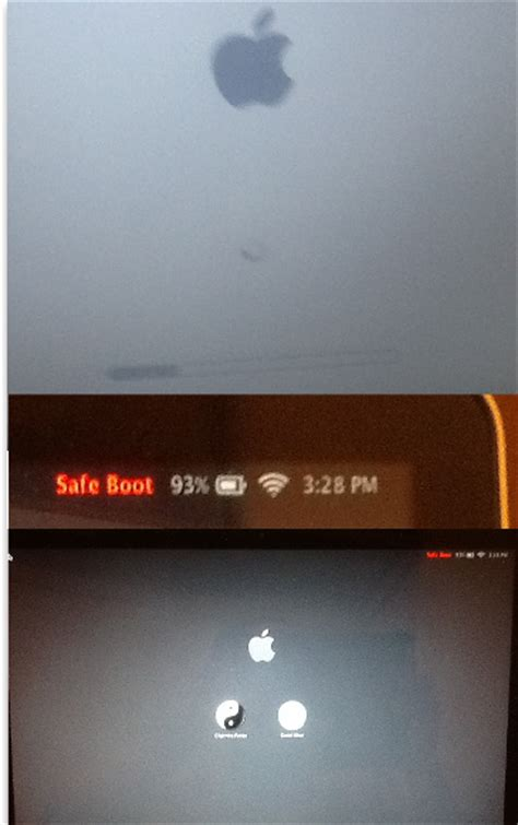 running mac in safe mode for troubleshooting problems