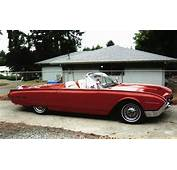 1962 FORD THUNDERBIRD CONVERTIBLE  61287