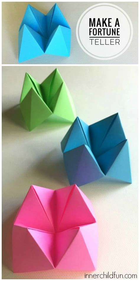 How To Make A Paper Fortune Teller Step By Step - best 25 paper fortune teller ideas on fortune