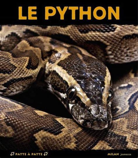 librerie python livre le python pascale hedelin milan jeunesse patte 224