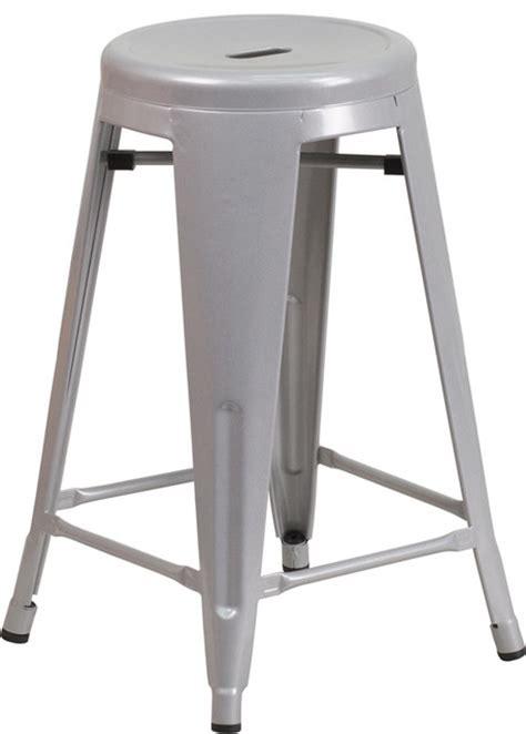 24 high backless metal indoor outdoor counter height