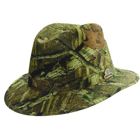 mossy oak safari hat with shapeable brim explorer hats