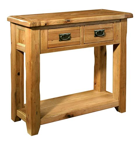 Small Console Table For Hallway Tuscany Solid Oak Hallway Furniture Small Console Table Ebay