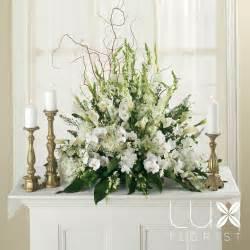 Wedding Altar Flowers White Altar Arrangement Bw5 11 Phoenix Weddings Amp Wedding Planner Florist