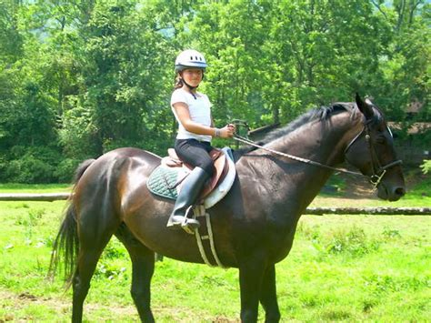 commercial girl riding horse girls horse riders rockbrook summer c for girls